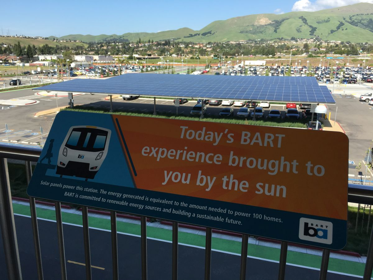 [Taken]BART Transit in San Francisco will Run Completely on Renewable Energy by 2045