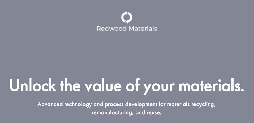 Image credit: Redwood Materials, screenshot