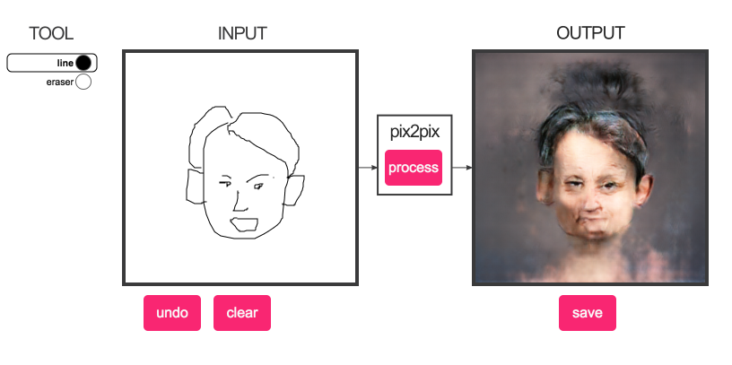 Draw a Doodle of a Face, and Watch This AI Image Generator Make It