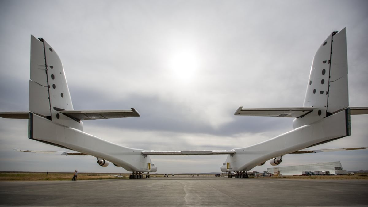 The Stratolaunch. Image Credit: Stratolaunch Systems