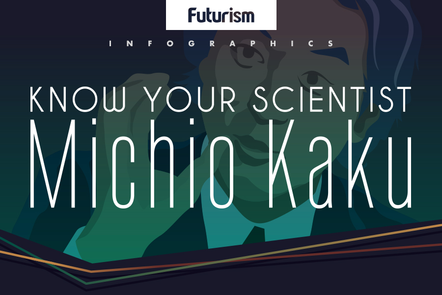 Here's Everything You Want to Know About Astrophysicist and Futurist Michio Kaku