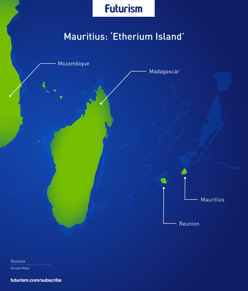 *4* Ethereum Island May Soon Exist Off the Coast of Africa