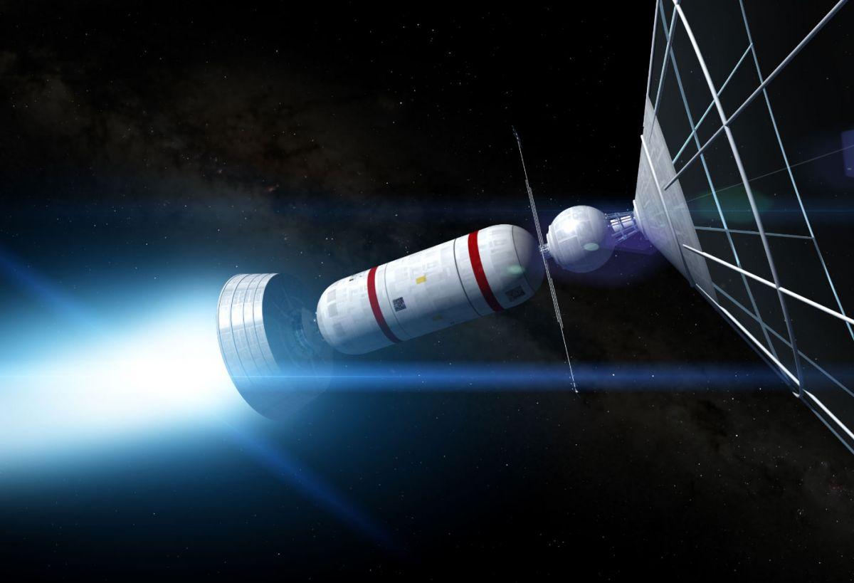 Bussard Ramjet Космичні кораблі майбутнього