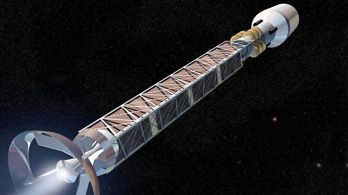 Космичні кораблі майбутнього Антиматеріальні ракети