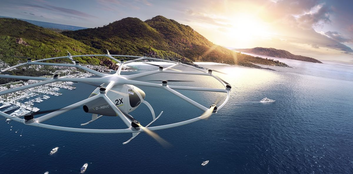 flying cars vtol volocopter autonomous aerial taxis