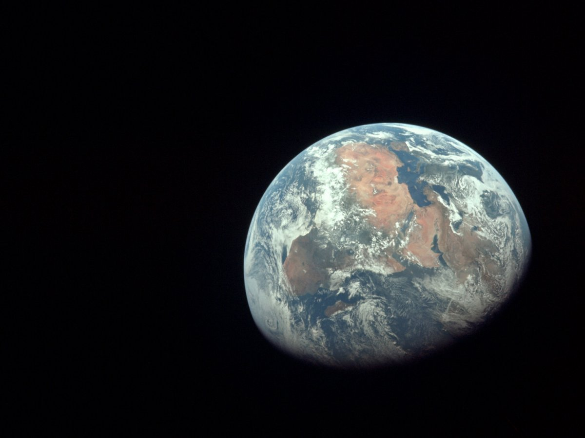 82d1c5bad85 A view of Africa taken by Apollo 11 astronauts on July 20, 1969. Image  Source: NASA/Flickr