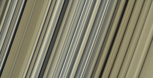 "One of the highest-resolution images to date of Saturn's rings, which Cassini captured on September 7, 2017, as part of its ""Grand Finale"" Image credit: NASA/JPL-Caltech/Space Science Institute"