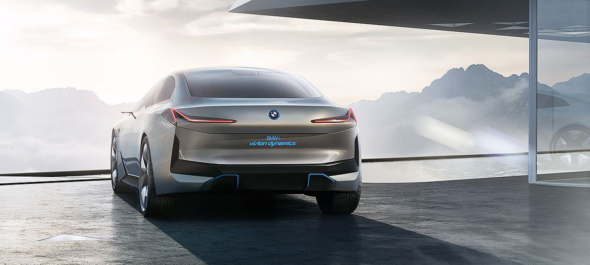 electric vehicles bmw i vision
