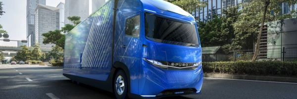 e-fuso vision one daimler electric truck tesla