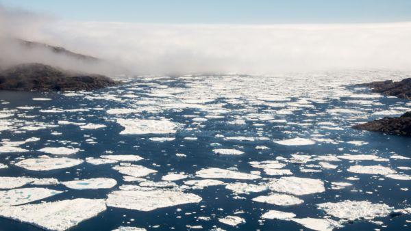 Broken iceberg
