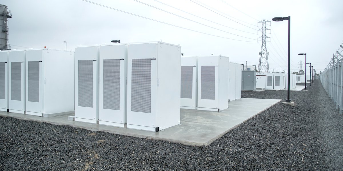 These Tesla powerpacks could someday hold cheap batteries powered by sodium.