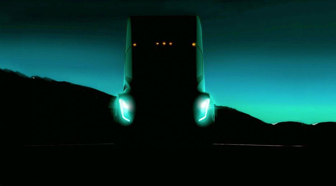 Tesla's electric semi truck