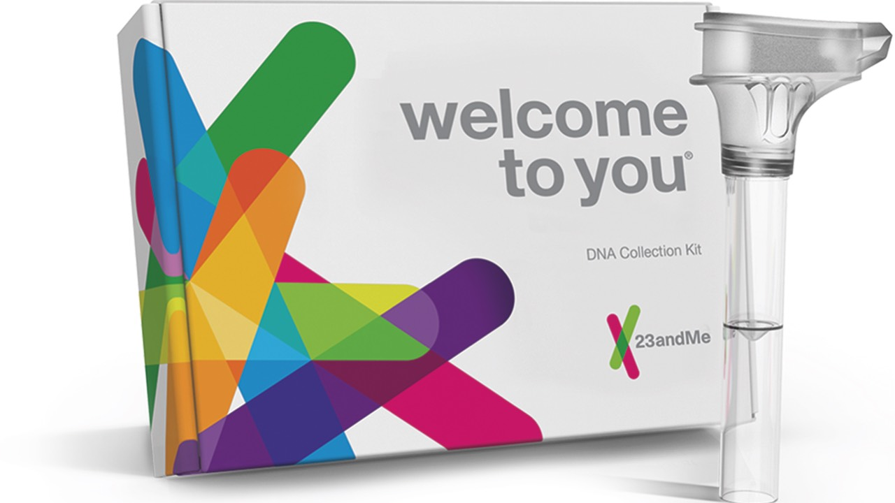 A colorful 23andMe testing kit and spit sample tube. Senator Chuck Schumer of New York argues that there should be tighter DNA testing kit restrictions for companies like 23andMe.