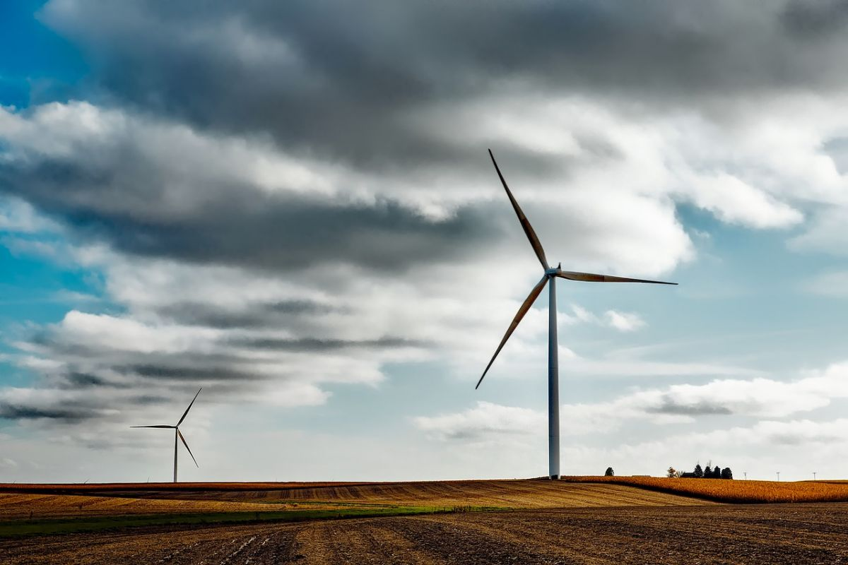 Wind energy will be stored in Musk's new megabattery. Image Credit: Free-Photos / Pixabay