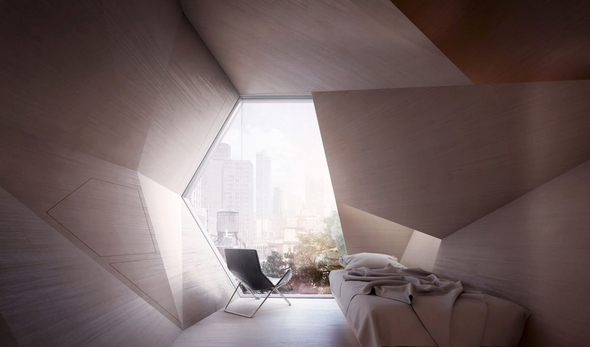 Interior look of a Homed Pod. Image Credit: Framlab