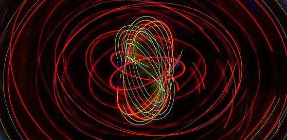 We can now track quantum movement even without observation. Image Credit: Robert Couse-Baker