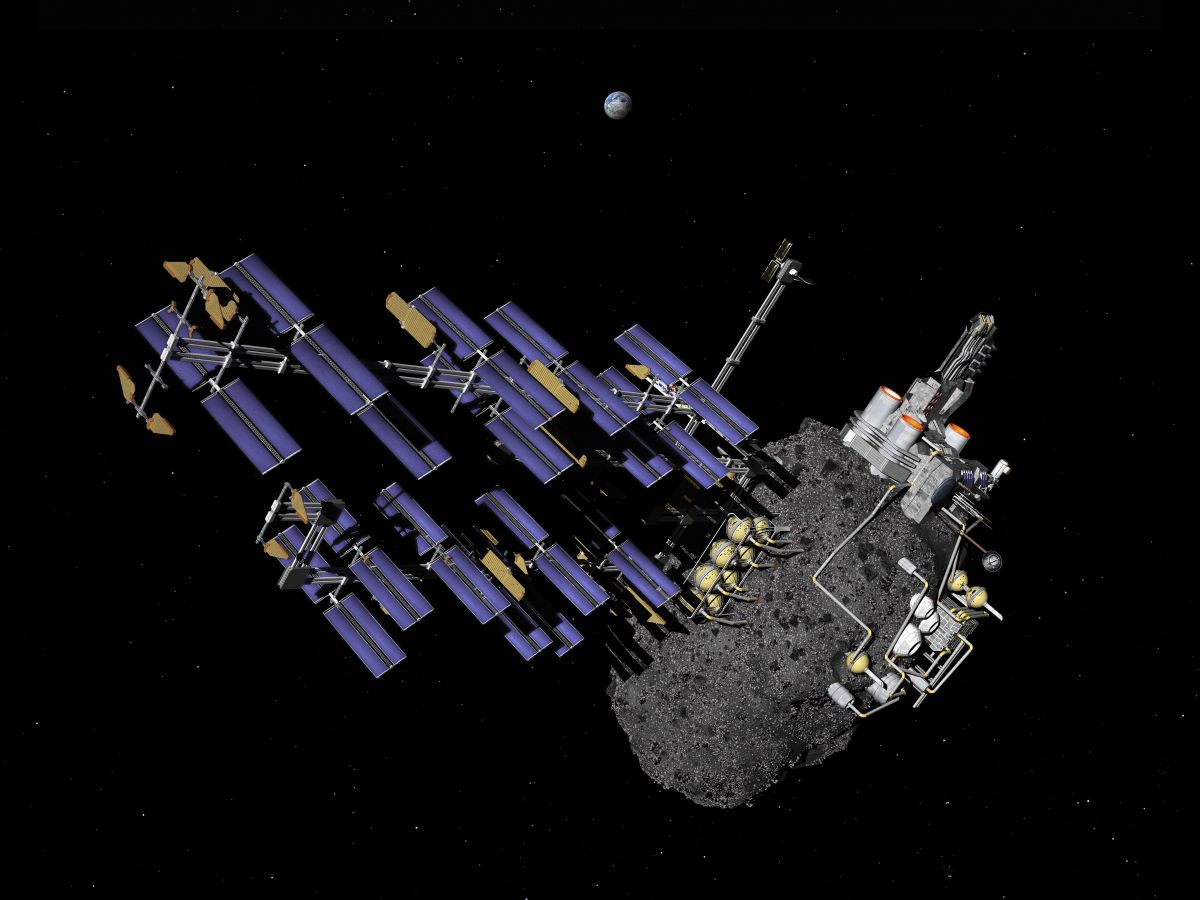 asteroid mining machinery - 900×674