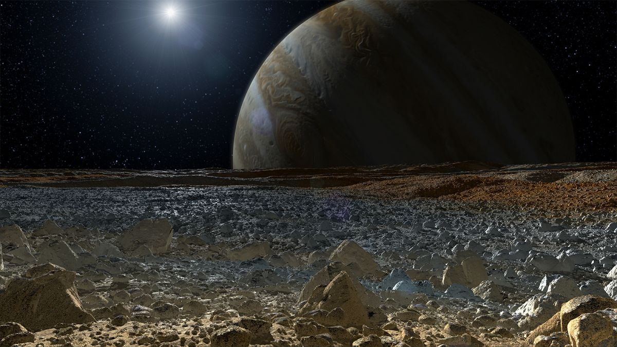 Life on Europa could survive off nuclear energy, research finds