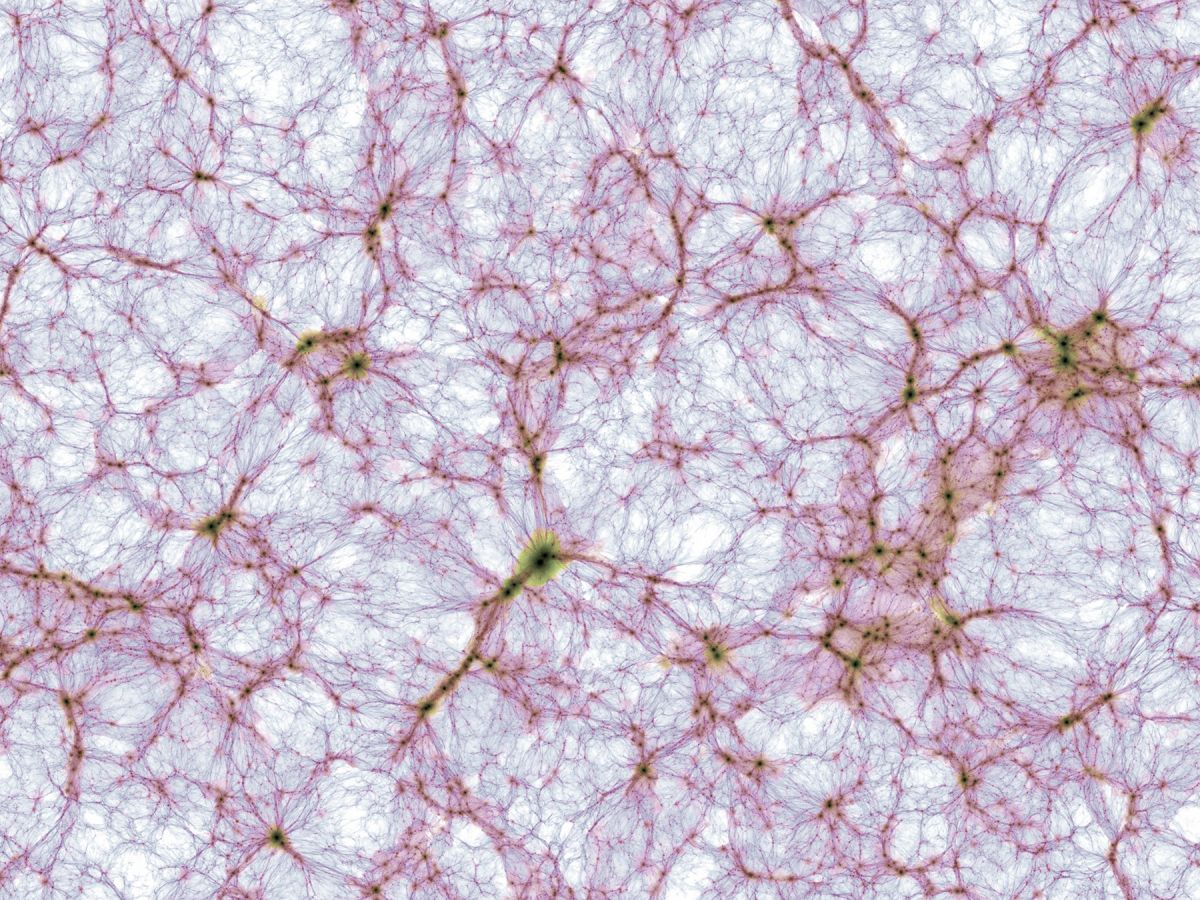 Here's your first look at the most detailed simulation of the cosmos ever made