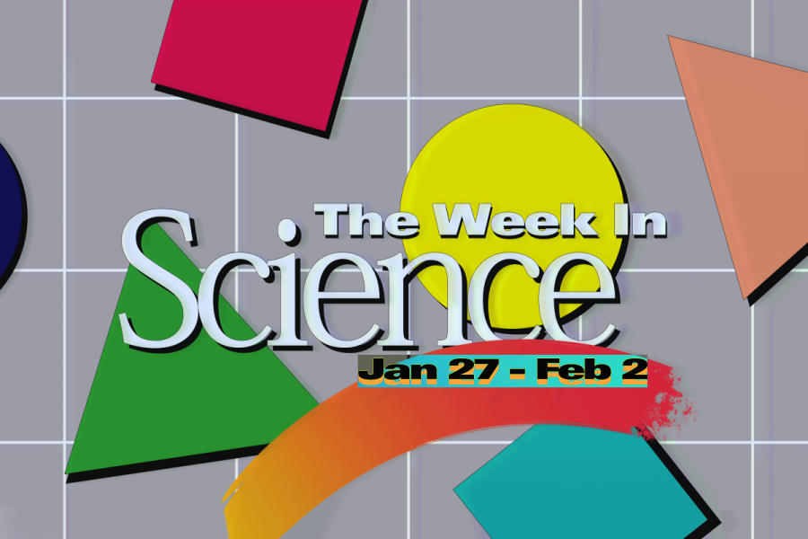 This Week in Science: Jan 27 – Feb 2, 2018