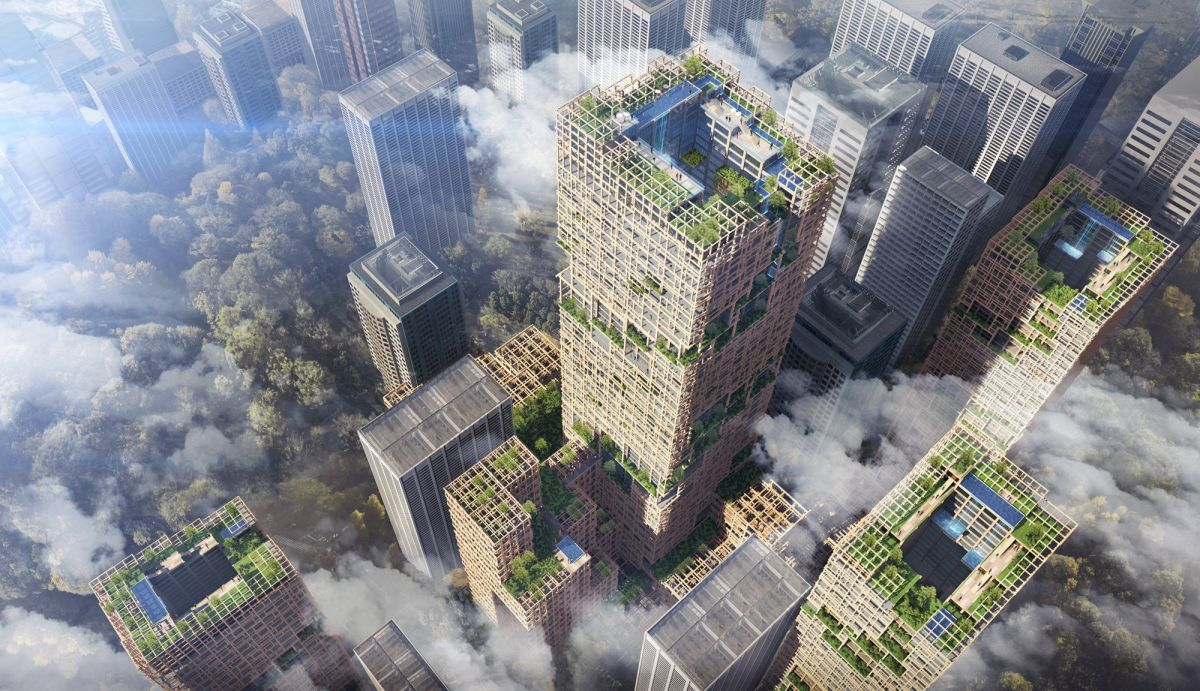 Three Reasons Why It's a Good Idea to Build a Skyscraper Out of Wood