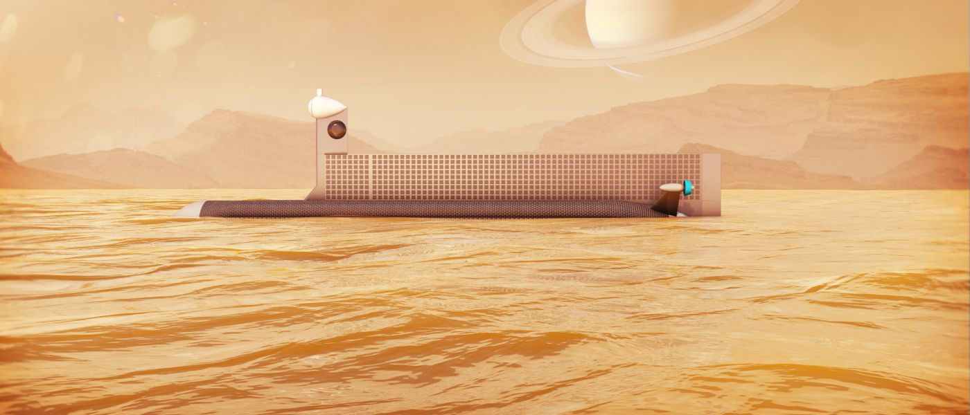 NASA is testing a space submarine to use in Titan's seas