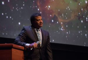 "Neil deGrasse Tyson ""Cosmic Collisions"" Lecture"