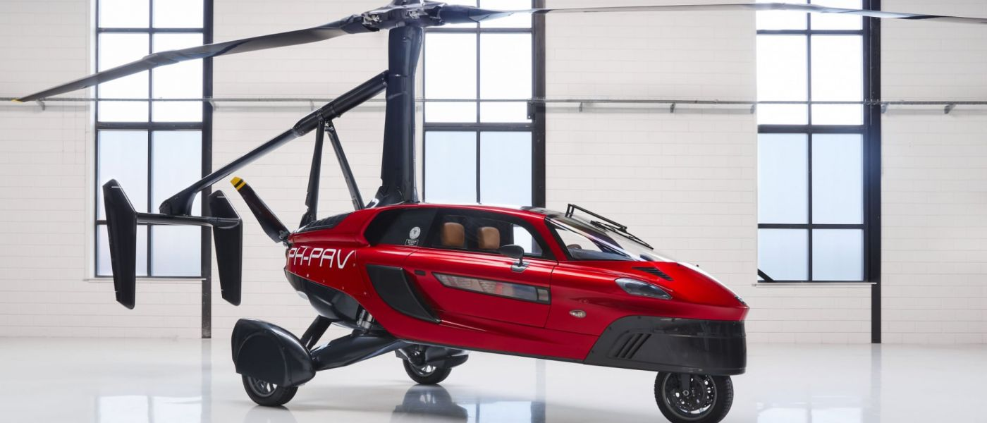 PAL-V's flying car design has been finalized, will arrive in 2019