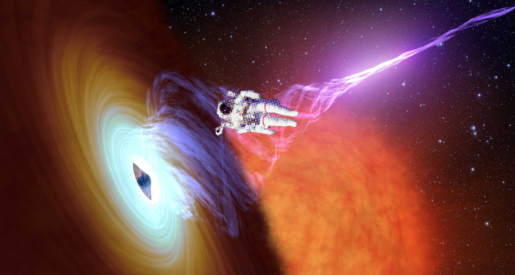 """Here's How You Could Survive Being Sucked Into a Black Hole. """""""