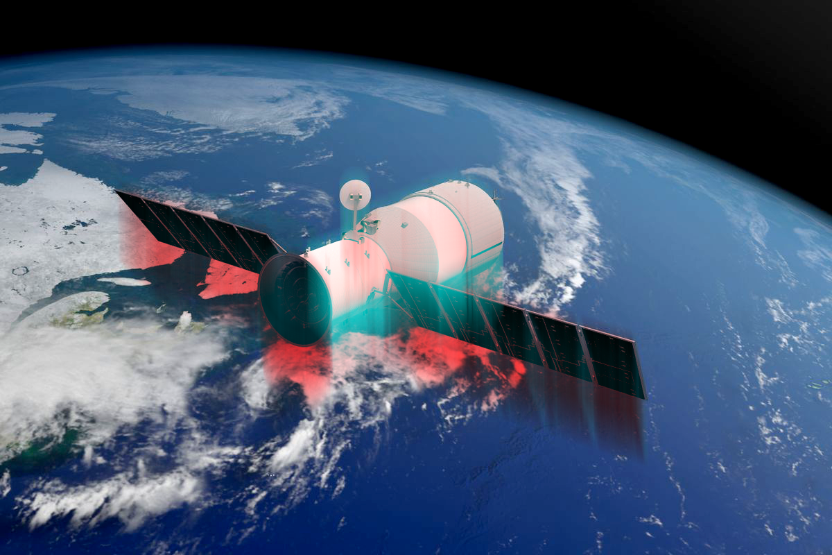 the chinese space station has crashed in the pacific why was it so