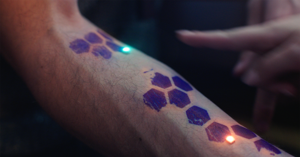 9abf4b1c8f728 Glimpse: How Electronic Tattoos Will Change The World — And Ourselves