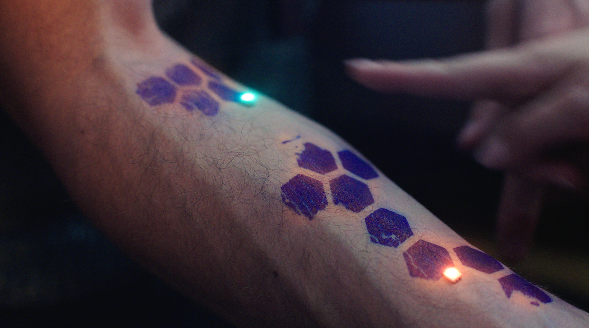 Tattoos Of The Future Could Soon Be Made Of Illuminated Skin