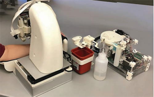 blood-testing robot
