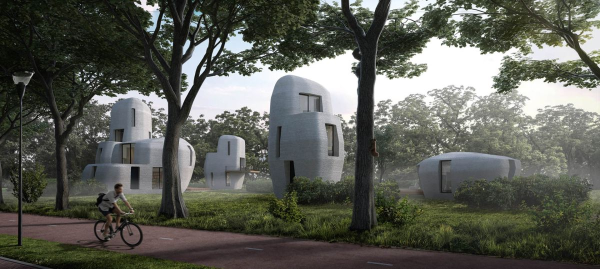 A Dutch city is 3D printing the first habitable houses