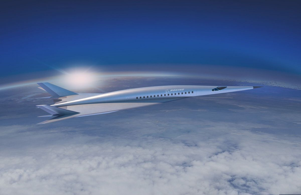 The Digest: Boeing's Hypersonic Concept Jet Could Cut Flight Times by 85 Percent