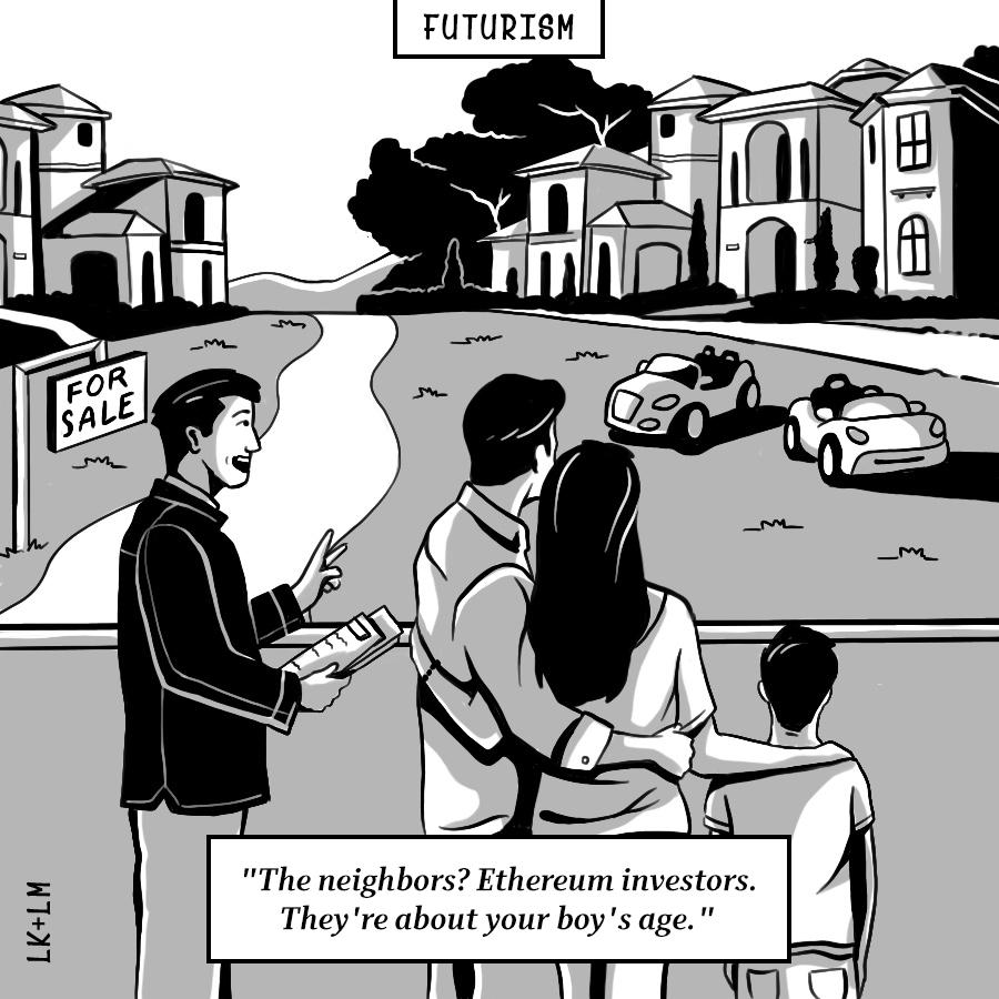 Crypto Millionaires Comic