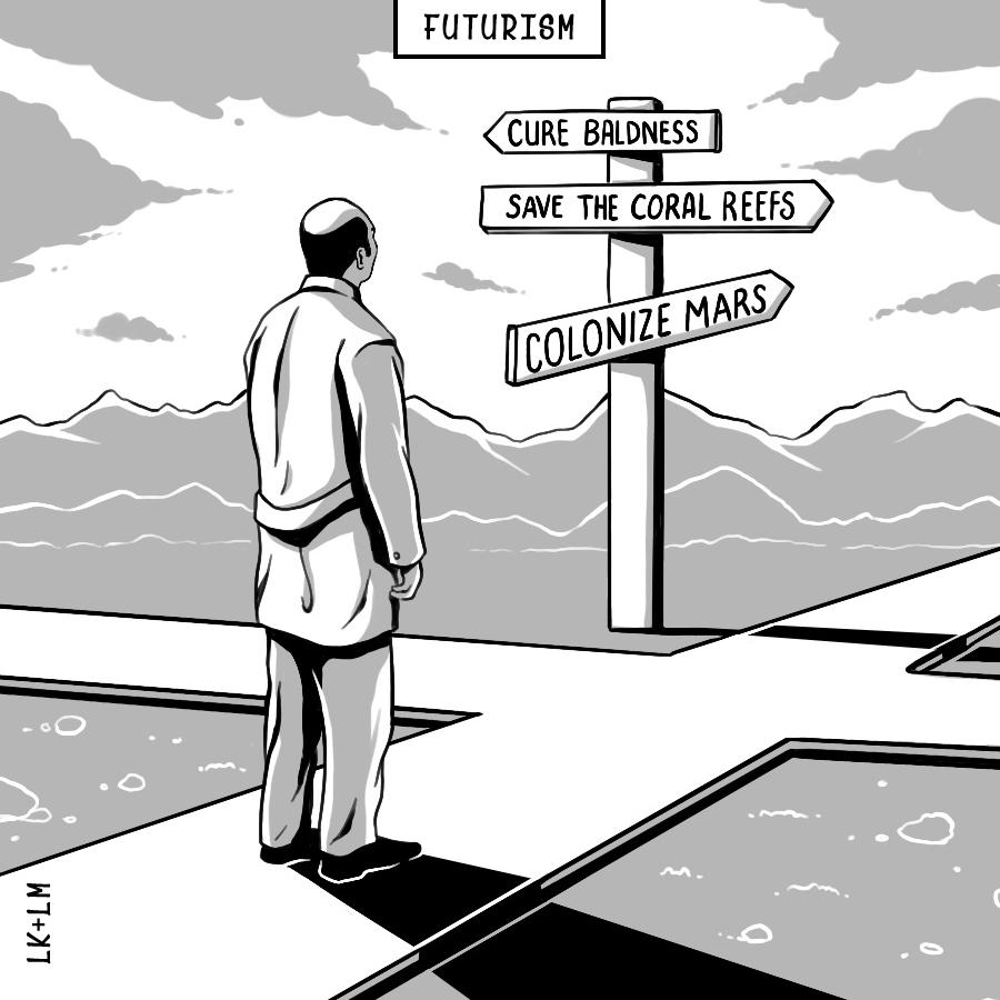 Cartoon Twenty-One