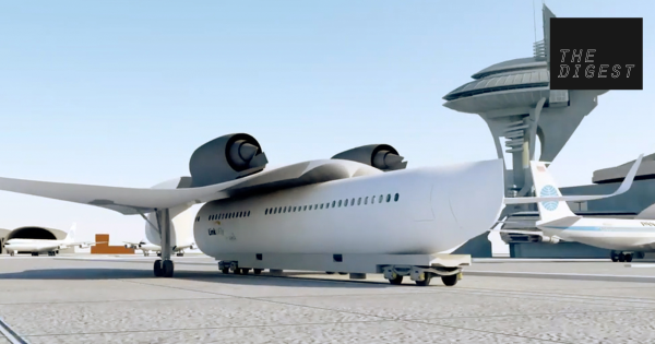 This Flying Train Concept Could Change The Future Of