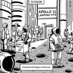 Moon Tourism Comic
