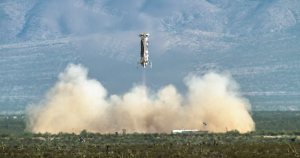 Blue Origin launched another New Shepard rocket, successfully engaging its capsule's emergency motor after separation.
