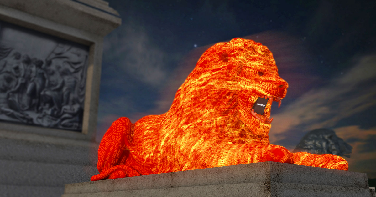 Here's why Google built an AI-powered lion statue that spits out poems