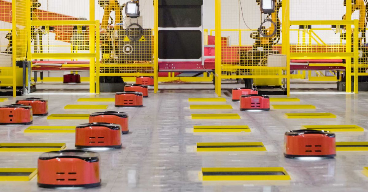 Take a Look at the World's First Fully Automated Warehouse