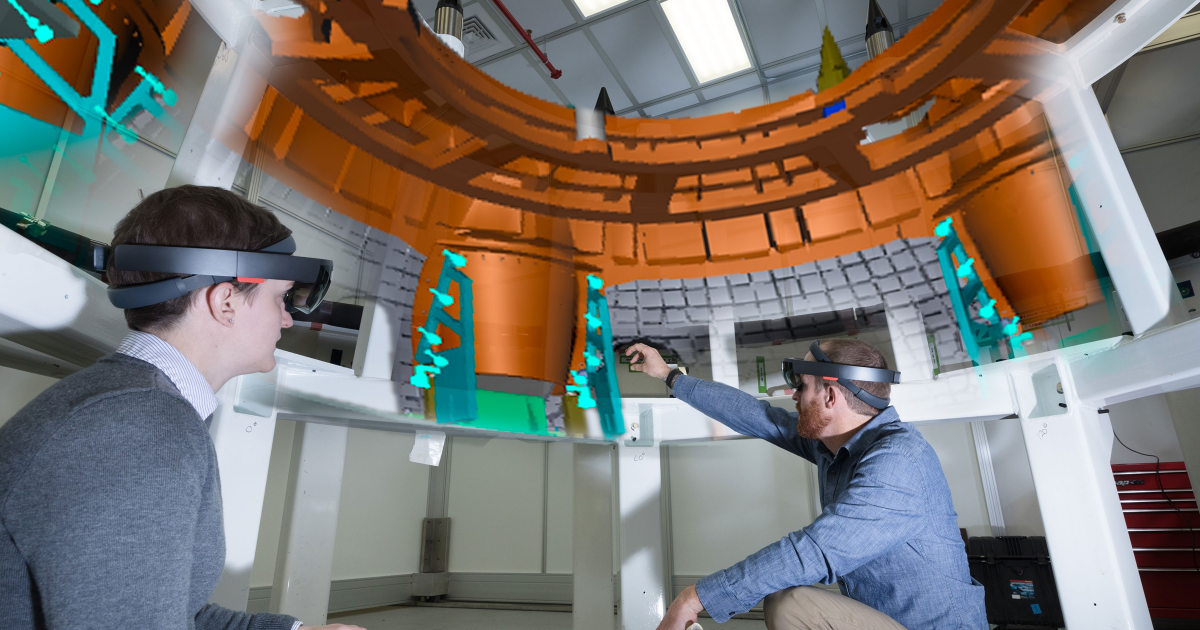 Lockheed engineers are using HoloLens to build NASA's new space capsule