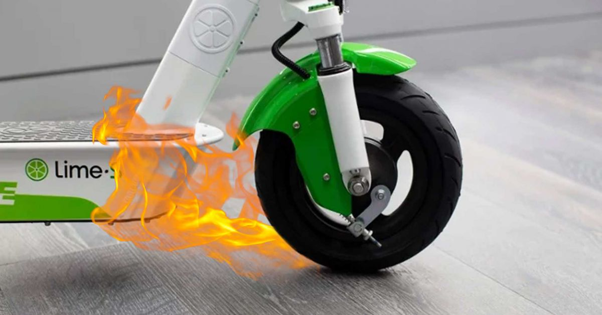 Lime Recalled Thousands Of Scooters Because They Were