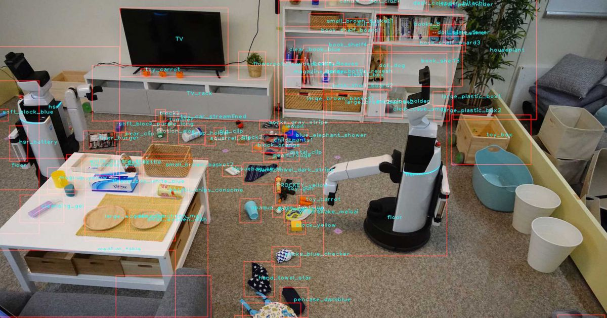 These tidying robots clean up toys, put Roomba to shame