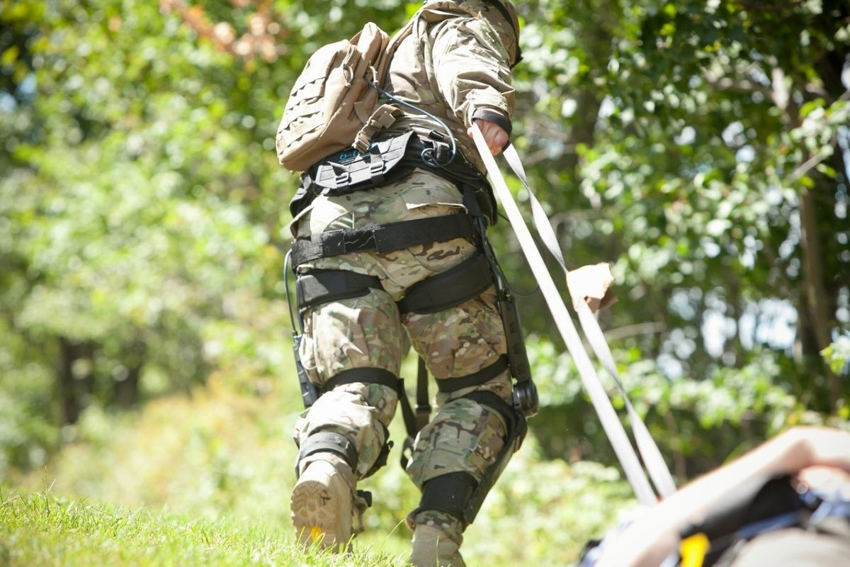 "The military is investing millions in exoskeleton ""super-soldiers"""