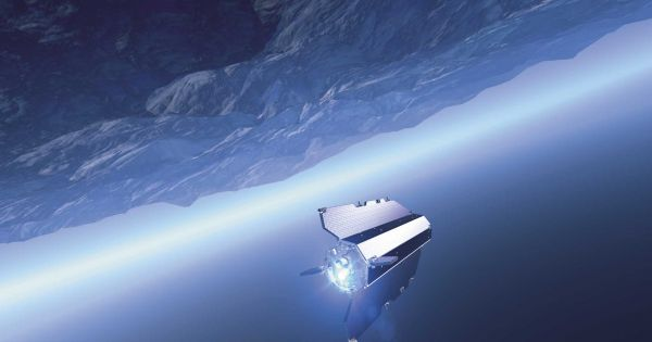 A satellite found remnants of lost continents under Antarctica.