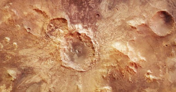 Mars used to be dotted in life-friendly lakes