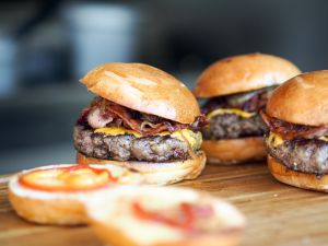 Burgers full of beef and bacon are facing a new threat from cancer causing chemicals.