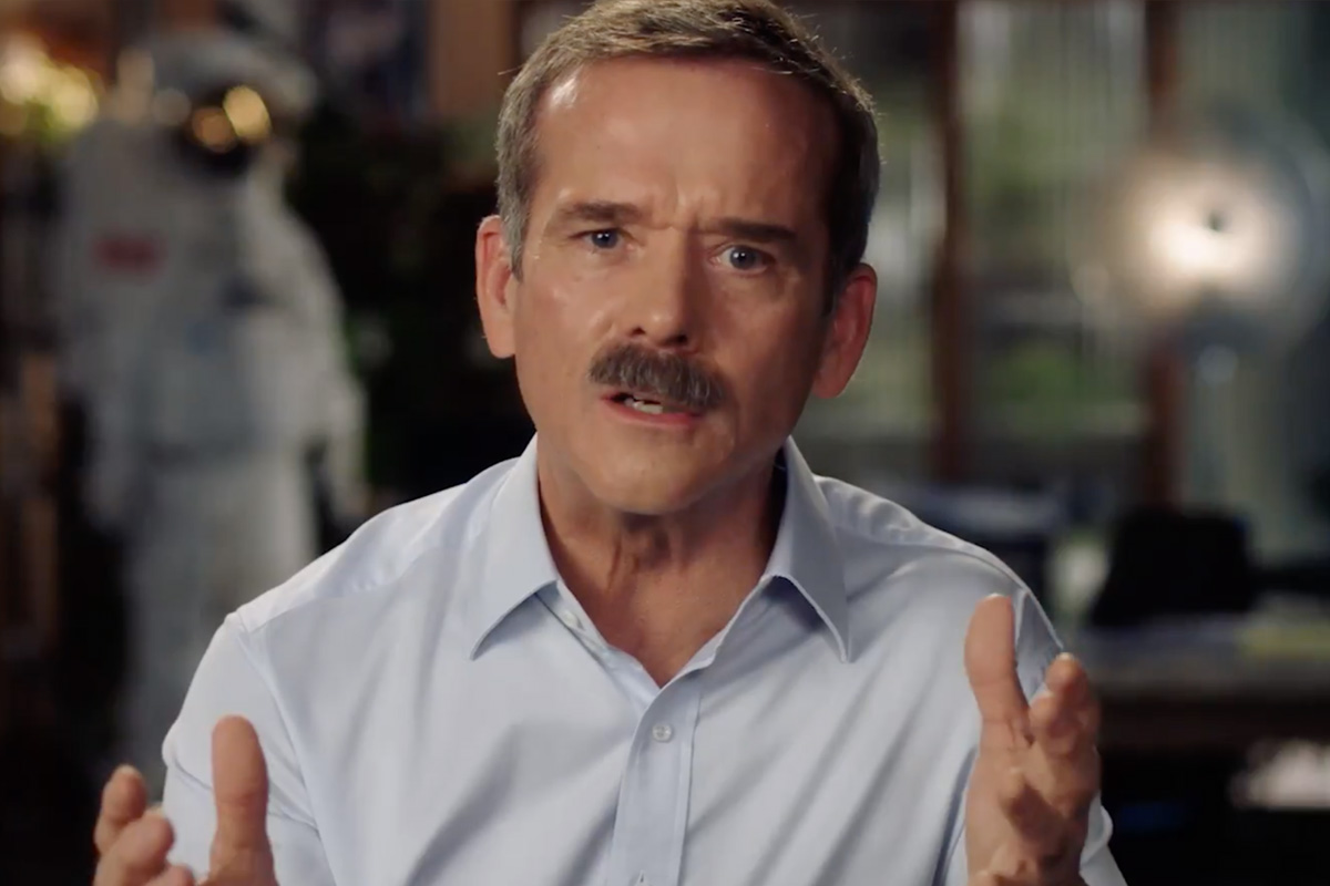 Chris Hadfield Masterclass online courses.